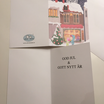 Christmas Cards - Oliver and Emma in town, pack of 5 with envelope
